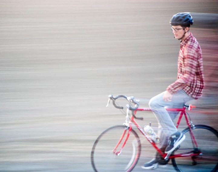 Cycling, 2014. Photo Credit: Maia Watkins