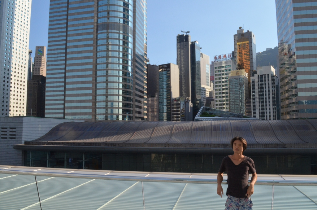 Michael Lai in the Hong Kong Central