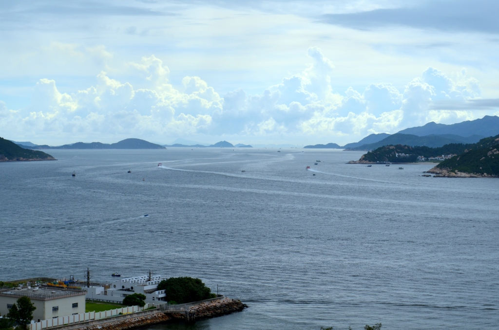 Beyond the bay, in the outlying islands of Hong Kong SAR