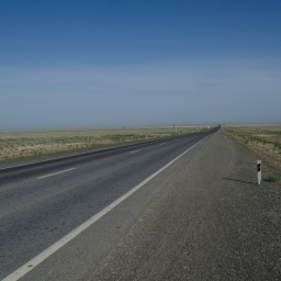 The Endless Steppe and the Aral Sea (Also, Giant Spiders): 14 Photos from the Road